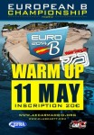 European B Championshipwarm-up flyer