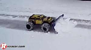 traxxas-summit-snow-plough