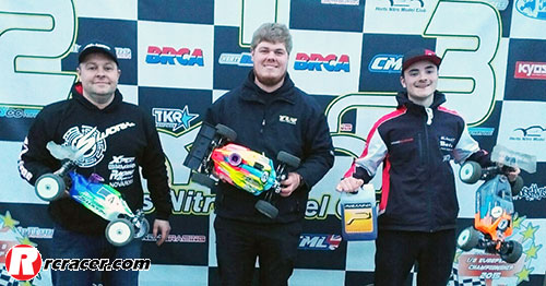 HNMC Winter R9 buggy Lewis, Cousins and Tatlow Win HNMC Winter R9
